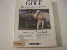 Championship Golf  The Great Courses of the World Volume One Amiga game Gamestar