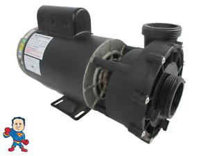 """LX Pump WUA400II Spa Hot Tub 56Fr Intertek 2"""" 4.0HP 2 Speed 230V Video How To"""