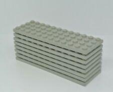 LEGO Star Wars: 8x Plate 4 x 12 - Ref 3029 Light Gray - Set 10030 7161 10129