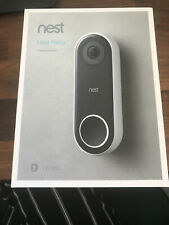Nest NC5100GB Hello Video Doorbell - Black