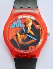 Billy Idol watch - Retro 80s designer watch