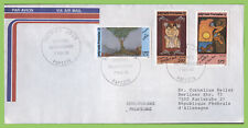 French Polynesia 1990 Legends set plain airmail First Day Cover