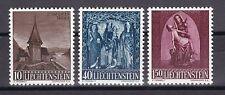 Postfrische Briefmarken aus Liechtenstein mit Feiertags-und Weihnachts-Motiv