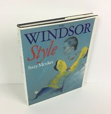 Windsor Style Royals Fashion Design Photographs Text Hardcover Book Suzy Menkes