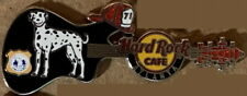 Hard Rock Cafe ATLANTA 2011 AFRD Atlanta Fire & Rescue Dog Guitar PIN HRC #61656