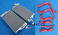 Aluminum Radiator AND HOSE FOR Honda CR125 CR125R CR 125 02 03 2002 2003