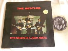 THE BEATLES Five Nights in Judo Arena CLEAR vinyl LP John Lennon Paul McCartney