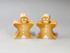 Abonadora-par Gingerbread Men/afinadores cerámica nuevo 9936046