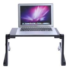 Computer Laptop Table Folding Lap Desk Portable Standing Adjustable Bed Desk