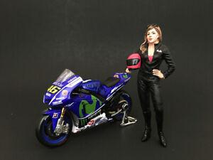 Female Biker Figure For 1/24 Scale Models By American Diorama