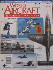 World Aircraft Information Files Issue 75 Northrop F-5 cutaway drawing & poster