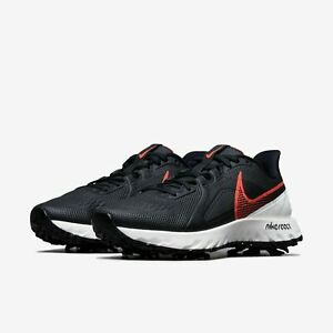NEW Nike React Infinity Pro Golf Shoes CT6621-002 Men's Size 9.5 Wide Black/Sail