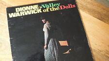 """VALLEY OF THE DOLLS"" SOUNDTRACK / DIONNE WARWICCK  PYE NPL 28114 MONO LP"