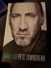 Pete Townsend Signed Book, Who Am I, The Who
