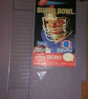 🏈🏆🍾TECMO SUPER BOWL NINTENDO NES 1991 EXCELLENT CONDITION 😃🤘🎮TESTED🔥WORKS