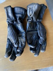 Leather Motorcycle Motorbike Scooter Gloves