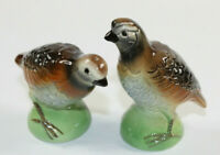 Vintage Grouse Quail West Germany Salt & Pepper Shakers
