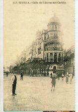 Tarjeta Postal Sevilla Calle Canovas del Castillo (CO-800)