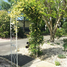 Ivory & Deene Garden Arch Wrought Iron - Cream