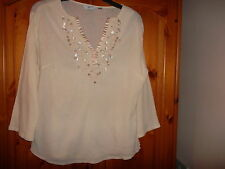 Hip Length Cotton 3/4 Sleeve NEXT Tops & Shirts for Women