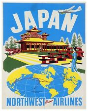 "Japan Art Travel Poster Japanese Vintage Decor Print 12x16"" XR422"