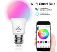 MagicLight WiFi Smart Light Bulb Dimmable Multicolor Sunrise Wake-Up Lights ^P