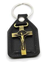 Christian Holyland CROSS Colgante Lucky Key Ring Jesus regalo especial