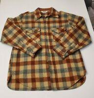 vintage woolrich Plaid flannel shirt Large