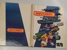 ORIGINAL MATCHBOX KATALOG 1979