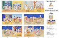 Elizabeth's Studio ~ The Little King ~ Christmas ~ 100% Cotton Fabric Book Panel