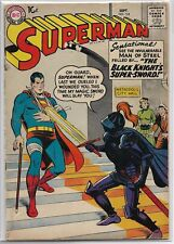 Superman #124 DC 1958 Silver Age Comic Book FN-/FN (W. 3 Superman Stories)