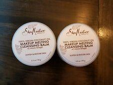 2-Shea Moisture 100% Virgin Coconut Makeup Melting Acacia Cleansing Balm 3.5 oz