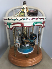 4 Horse Carousel Introductory Edition Willitts Designs Tobin Fraley Collection