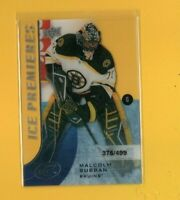 39915 MALCOLM SUBBAN 2015/16 ICE BRUINS ROOKIE CARD #375/499 BK$31.25