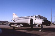 F1686 Usaf F4 D Phantom 667498 35Mm Kodachrome Aircraft Slide May 1990