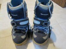 Burton Women's Moto SI Snowboard Boots Size 7 w/ Bindings