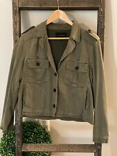 LUCKY BRAND Women's Olive Military Jacket..Size Large