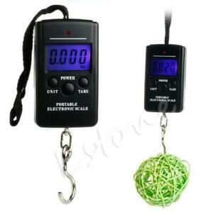 New Sell Portable 40kg 88Lb 1410oz Digital Handy Scales Fishing Luggage