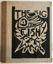 Ricky Tejada Flores The Big Fish 1964 Woodblock Limited 20/30