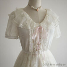 LIZ LISA Organza Docking Sailor Corset tie Dress Romantic Lolita Kawaii Japan