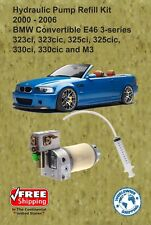 00-06 BMW 3 Series Hydraulic Pump Refill Kit Convertible E46 With Oil