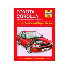 Toyota Car Service & Repair Manuals 1988