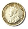 1919 Canada 5c Five Cents Silver Coin Half Dime KM# 22