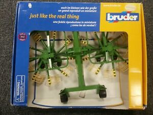 Bruder Farm Krone Schwader  Scale 1:16 Boxed Set 02216 Made in Germany #768