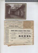 (B/5) 5 Photos Evreux rue de la Harpe / Couvreur Renel / Richard Loueur Chevaux