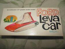 Rare AMT Ford Levacar Leva Car Mach I - 1/17 Scale Plastic Model Kit #160