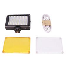 96/112 LED Video Light Photo Lighting on Camera Hot shoe LED Lamp Rechargeable