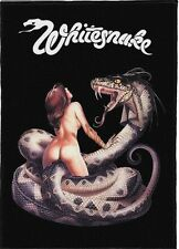 WHITESNAKE BACKPATCH / SPEED-THRASH-BLACK-DEATH METAL