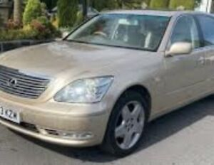 LEXUS LS430 2003-2006 facelift version 4.3 v8 3uz parts available