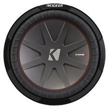 Kicker 43CWR124 12 Inch 1000 Watt 4 Ohm DVC COMPR Car Audio Stereo Subwoofer